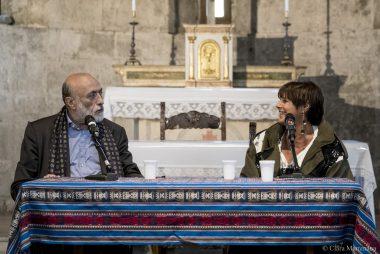 Lella Costa e Carlo Petrini a Molte Fedi 2017